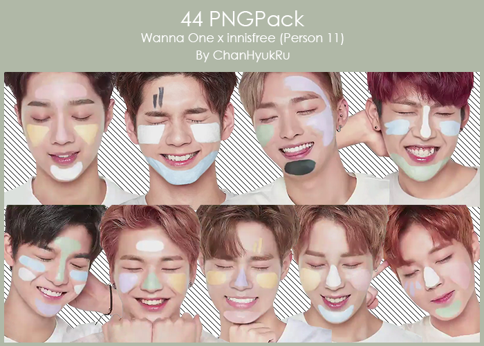 44 Wanna One X Innisfree Pngpack By Chanhyukru On Deviantart