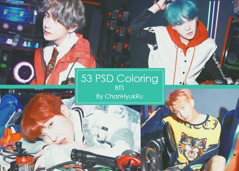 53 / PSD Coloring by ChanHyukRu