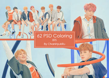 62 / PSD Coloring by ChanHyukRu by ChanHyukRu