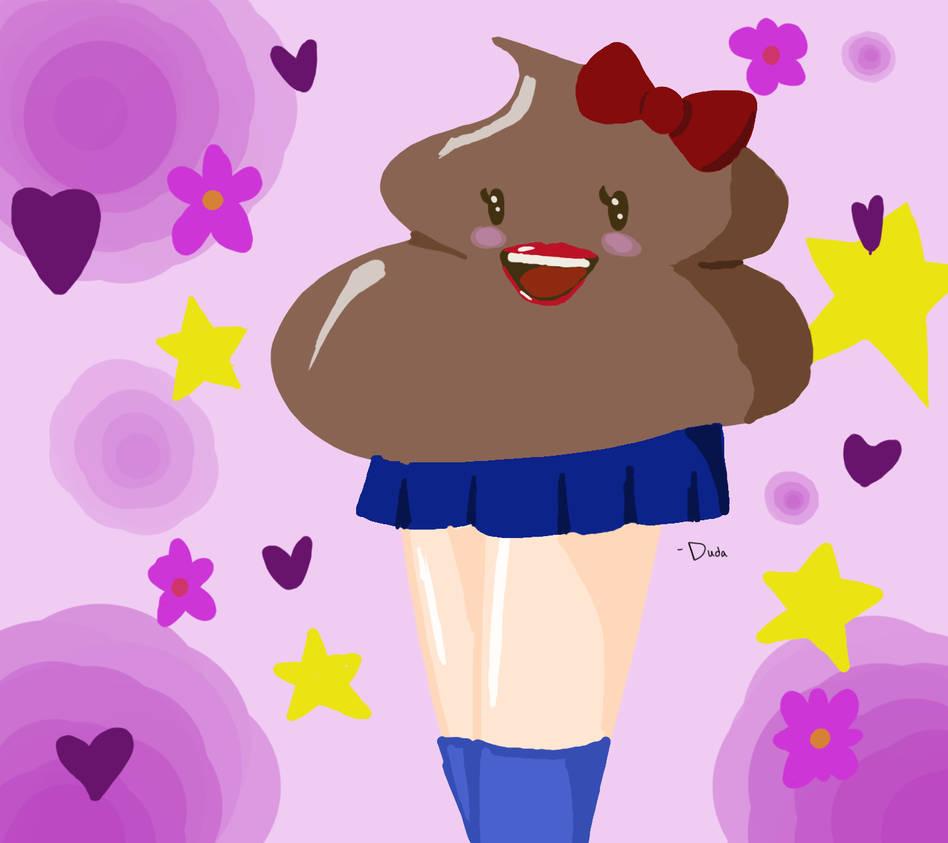 Poop girl by wildbunnicorn