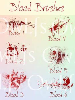 Blood Brushes (FireAlpaca)