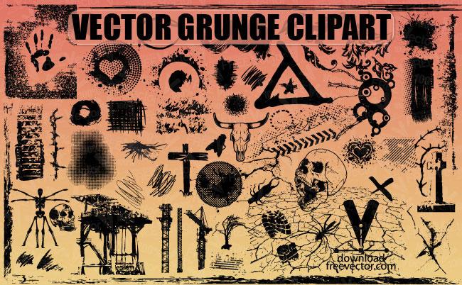 vector grunge clipart - photo #30