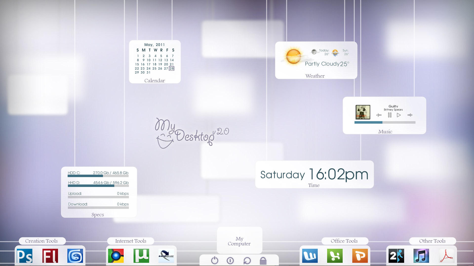 my desktop v2.0 by Panagiotakis