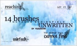 Text Brushes - Set 2 by negashiite