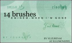 Text Brushes - Set 3