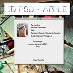ID PSD - Apple