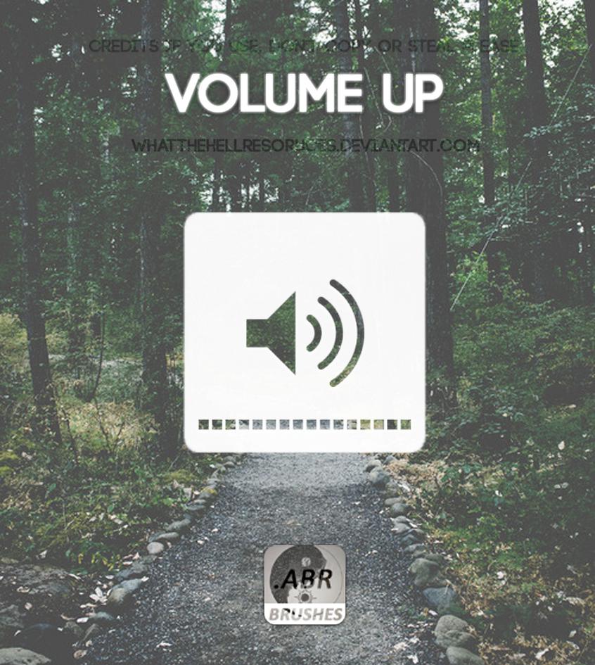Volume Up Brush - WTHR by WhatTheHellResources
