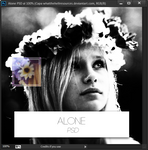 Alone | PSD | 2 psds