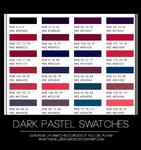 Dark Pastel | SWATCHES |