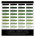 Forest | SWATCHES