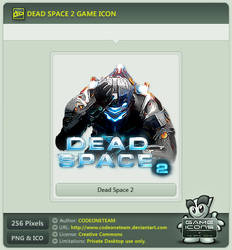 Dead Space 2 Icon by CODEONETEAM