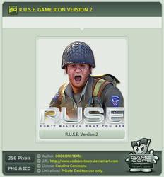 R.U.S.E. Icon v2 by CODEONETEAM