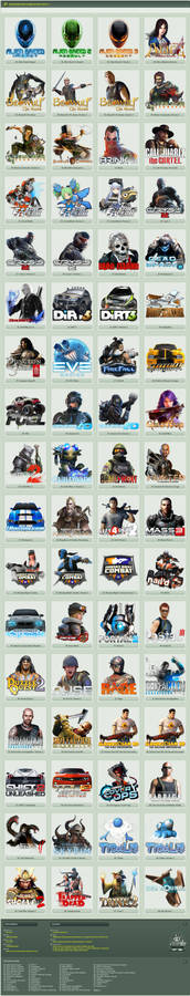 Game Icons Pack 3