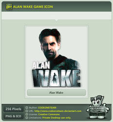 Alan Wake Icon by CODEONETEAM