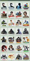 Game Icons Pack 4