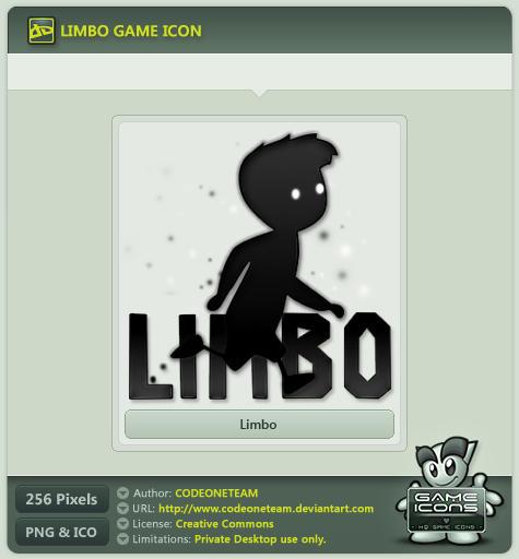 Limbo Icon by CODEONETEAM