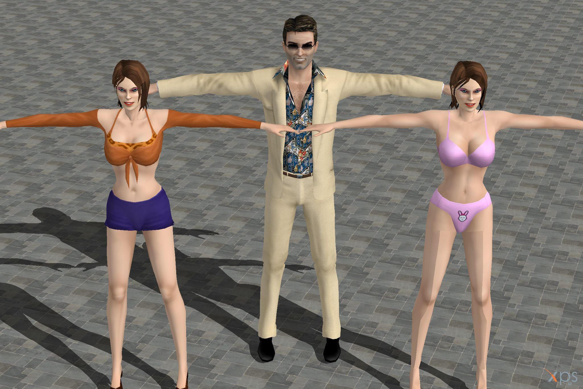 ut3 nude skins