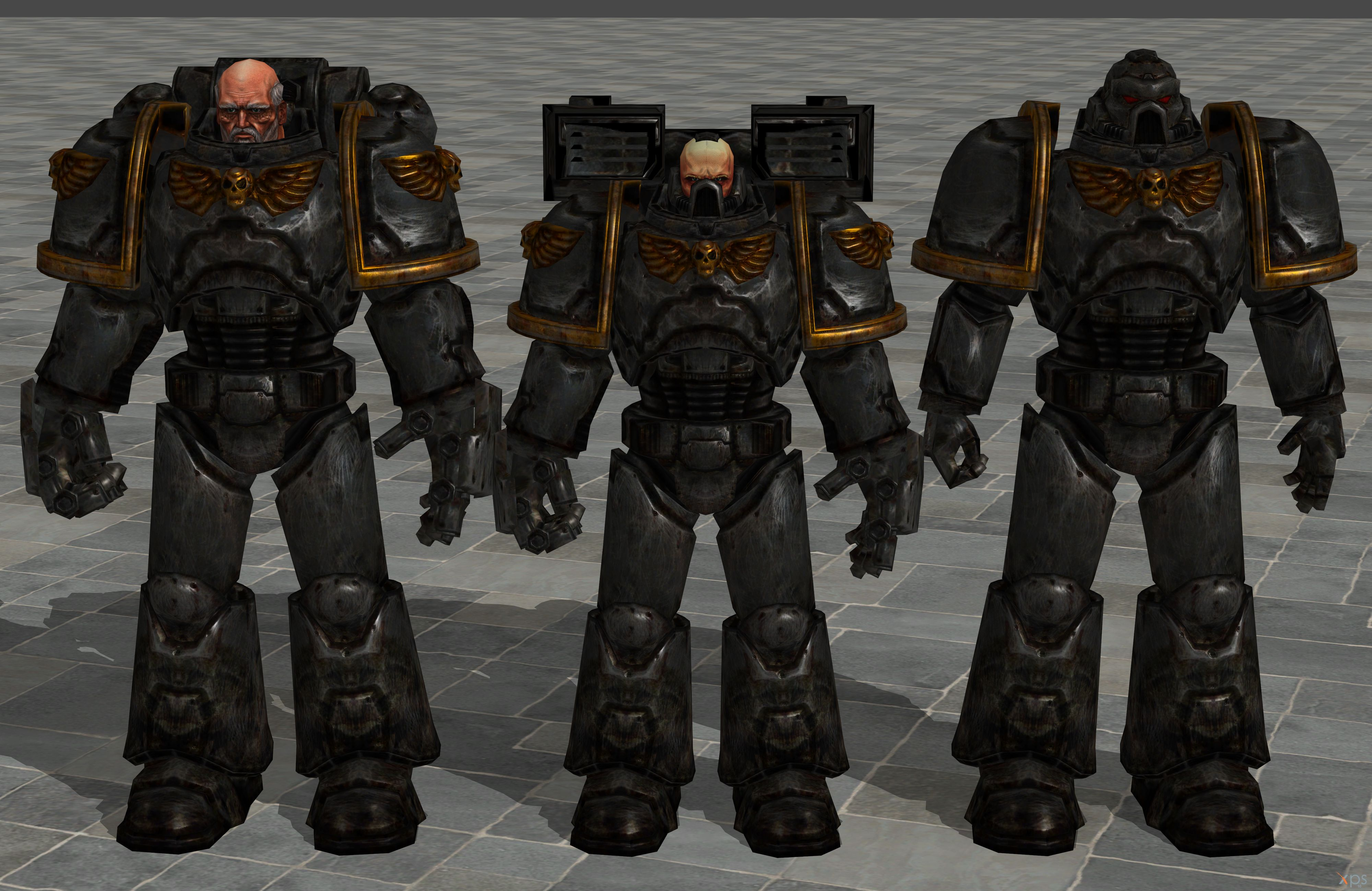 'Warhammer 40000' Gray Knights pack 2.0 XPS ONLY!! by lezisell