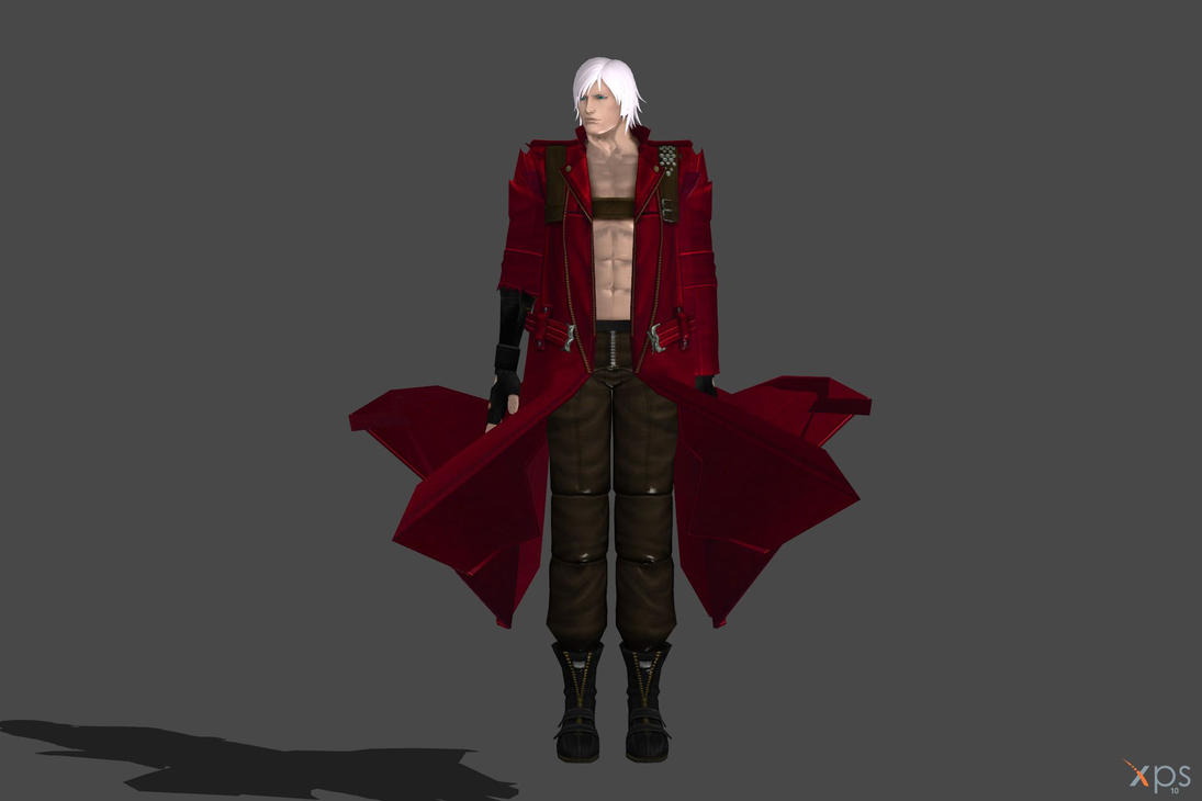 'UMvsC3' Dante fully poseable by lezisell