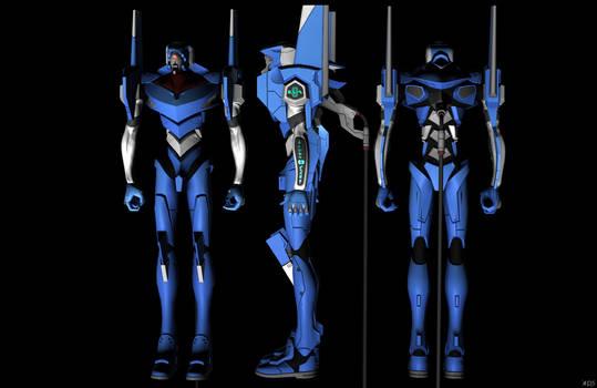 'Neon Genesis Evangelion' EVA00 poseable