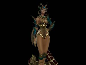'Smite' Desert Queen Serqet XPS ONLY!!!