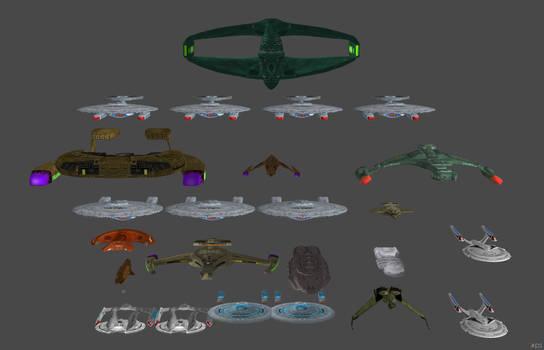 'Star Trek: Bridge Commander' Ships Pack XPS ONLY!