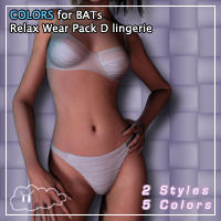 Colors For BAT's RelaxWear by ElBorja