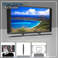 Plasma Screen by ElBorja