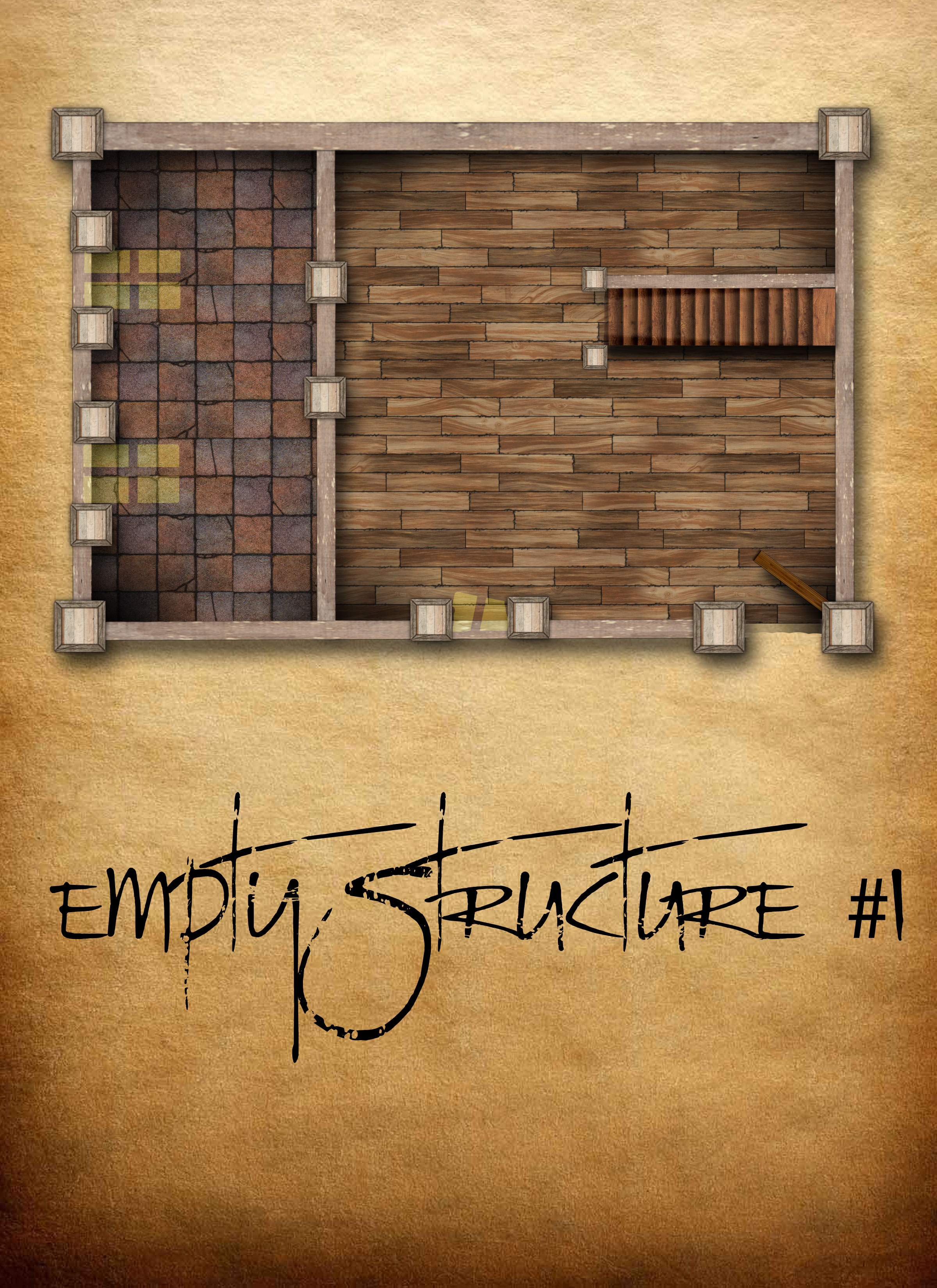 Empty Structure #1 by ladnamedfelix by ladnamedfelix