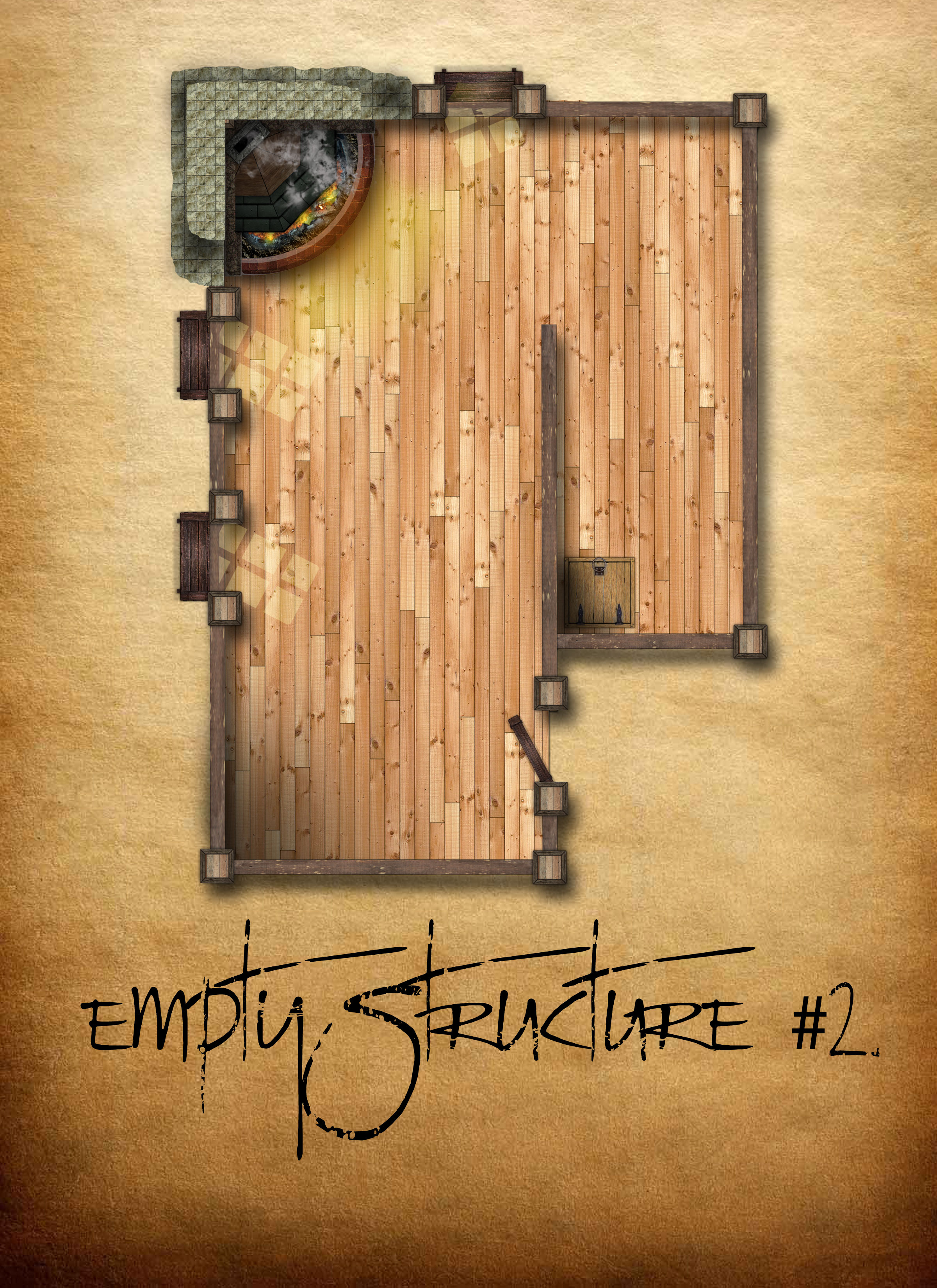 Empty Structure #2 by ladnamedfelix by ladnamedfelix