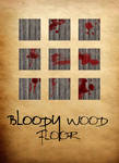 Bloody Wood Floor Tiles by ladnamedfelix