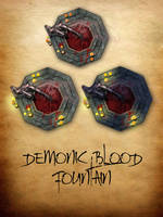 Demonic Blood Fountain by ladnamedfelix by ladnamedfelix