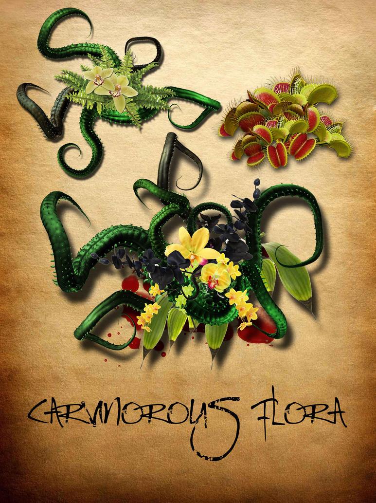 Carnivorous Flora by ladnamedfelix by ladnamedfelix
