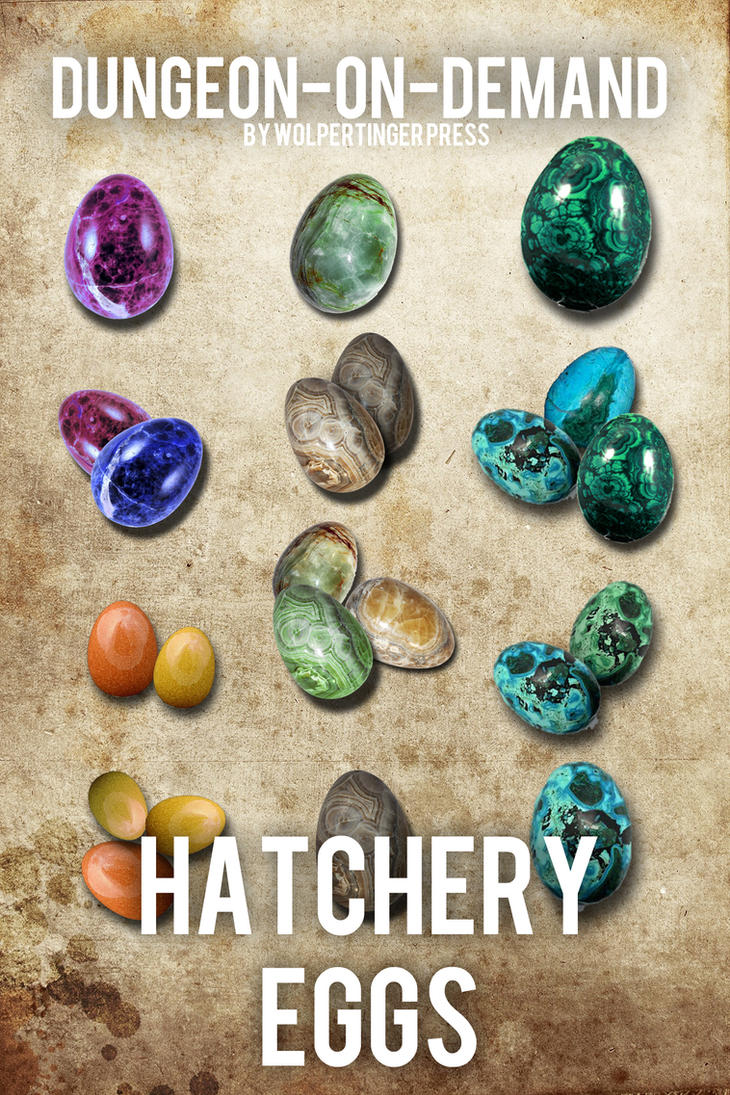 Hatchery Eggs by Wolpertinger Press by ladnamedfelix