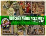Butcher and Blacksmith Free Map Set!