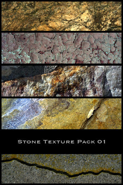 Stone Texture Pack 01 by nighty-stock