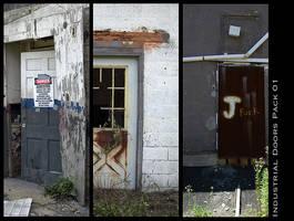 Industrial Doors Pack 01