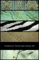 Fabrics Texture Pack 01 by nighty-stock