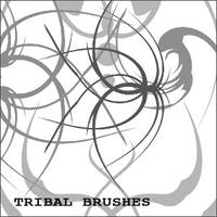 Tribal Brushes by nighty-stock