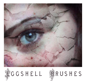 Eggshell Brushes by greenaleydis-stock
