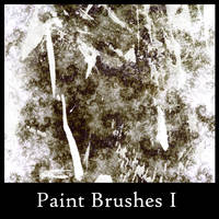 Paint Brushes I by greenaleydis-stock
