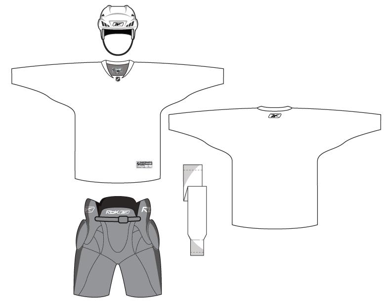 Hockey Uniform Template By Matthiason On Deviantart
