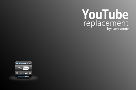 Youtube Icon Replacement