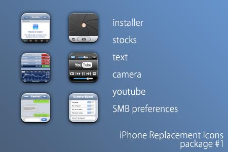 iPhone icons pt.I by iamjustin44