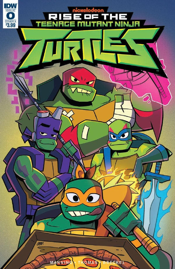 Rise of the TMNT Cartoon Verse by TMNTFanfictionHub on