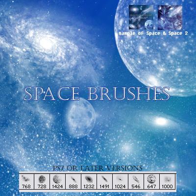 Space brushes sampler