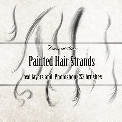 FS Painted Hair Strands