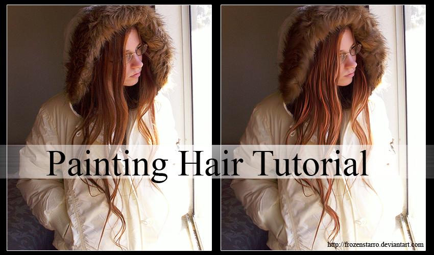 Painting Hair Tutorial