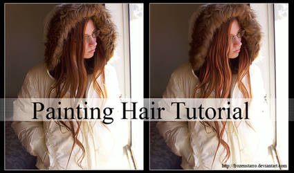 Painting Hair Tutorial by FrozenStarRo