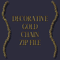GOLD CHAIN PNG FILE